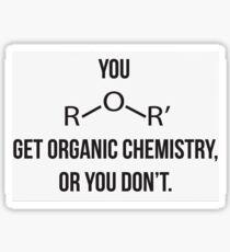 Organic Chemistry Sticker Sticker