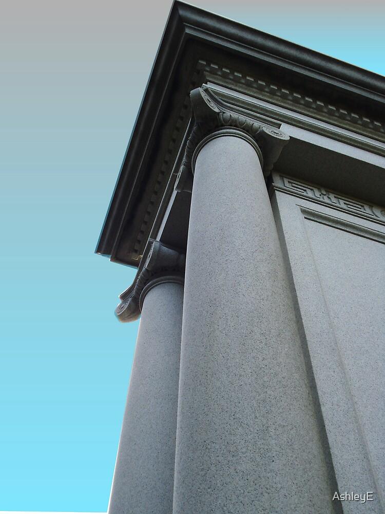 greek columns by AshleyE