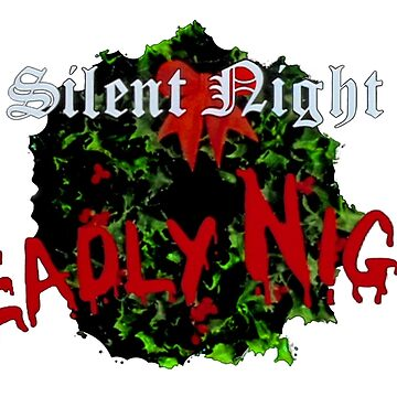 Silent Night Deadly Night (TITLE SHIRT) by shawnofthe80s