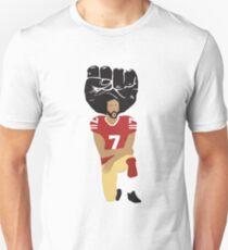 Colin Kaepernick Kniend - Ich bin mit Kap Slim Fit T-Shirt