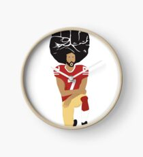 Colin Kaepernick Kneeling - I'm With Kap Clock