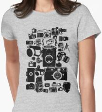 Cameras Women's Fitted T-Shirt