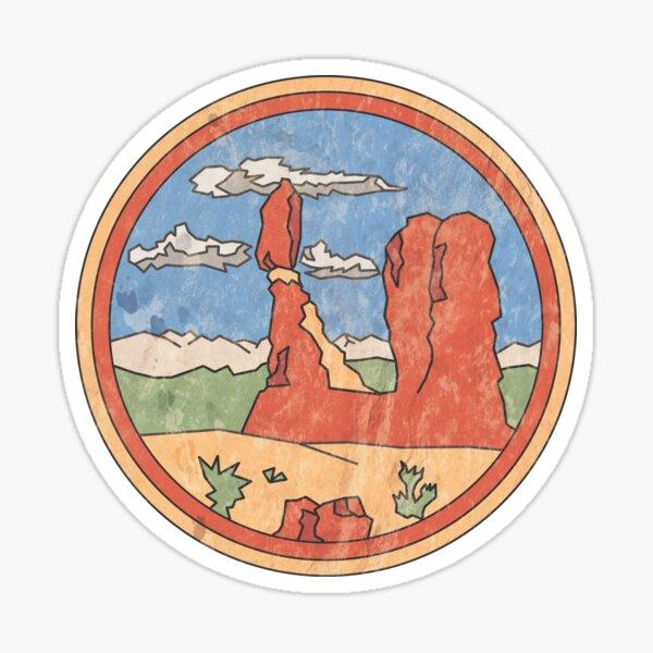 Balanced Rock Design Sticker