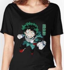 Deku from Boku no Hero Academia Women's Relaxed Fit T-Shirt