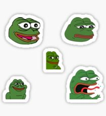 Pepe Sticker Sheet Sticker