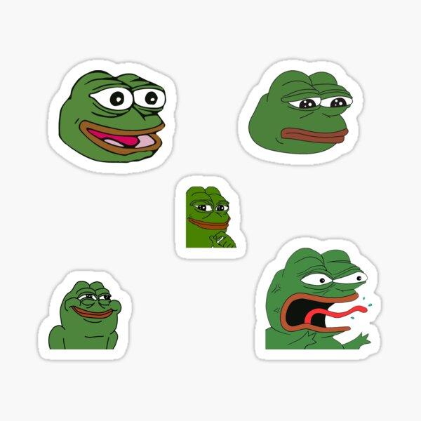 Pepe Stickerbogen Sticker