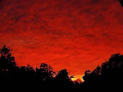 Flaming Sky by Rebecca Laffar-Smith