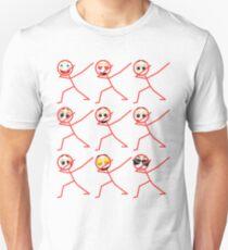 Icon Face Emoji Funny Emotion Unisex T-Shirt