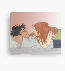 lay with me Canvas Print