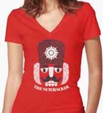 Nutcracker Women's Fitted V-Neck T-Shirt