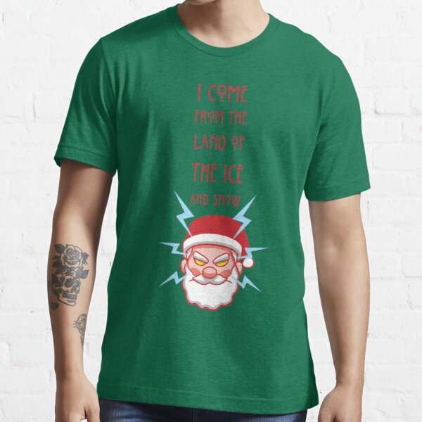 Ice and Snow Santa Essential T-Shirt