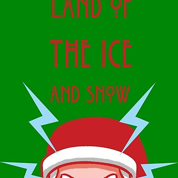 Ice and Snow Santa by tduffy