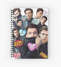 Tom Holland Spiral Notebook