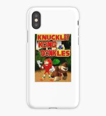Knuckley Kong & Dunkles iPhone Case/Skin