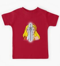 She-Ra Princess of Power - Adora/She-Ra/Sword - Color Kids Tee