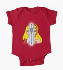 Body de manga corta para bebé She-Ra Princess of Power - Adora / She-Ra / Sword - Color