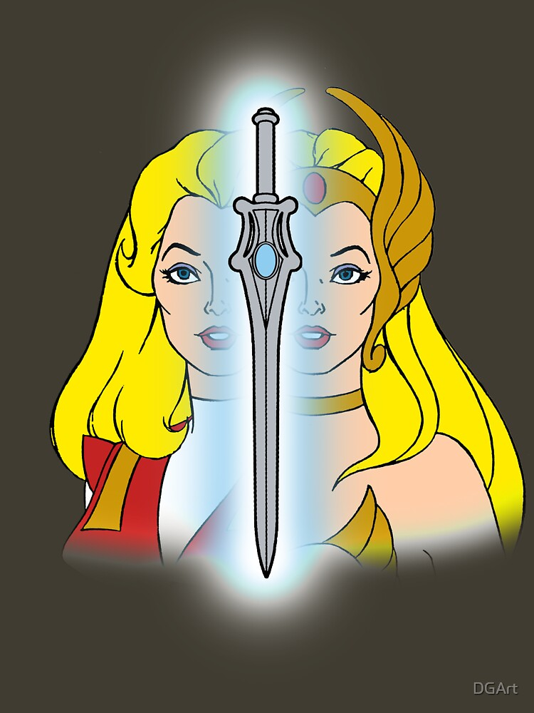 She-Ra Princess of Power - Adora/She-Ra/Sword - Color | Unisex T-Shirt