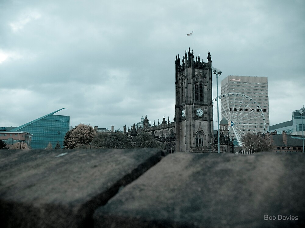 Manchester City Centre Landmarks by Bob Davies