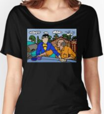 Wax On Wax Off Women's Relaxed Fit T-Shirt