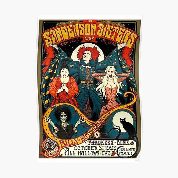 Cartel del tour Sanderson Sisters Póster