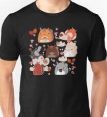 Kawaii Squirrels Unisex T-Shirt