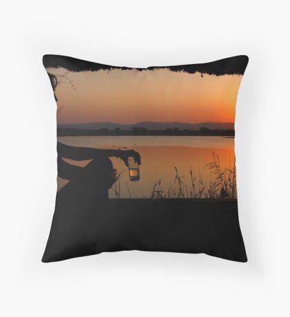 The ultimate sundowner Throw Pillow