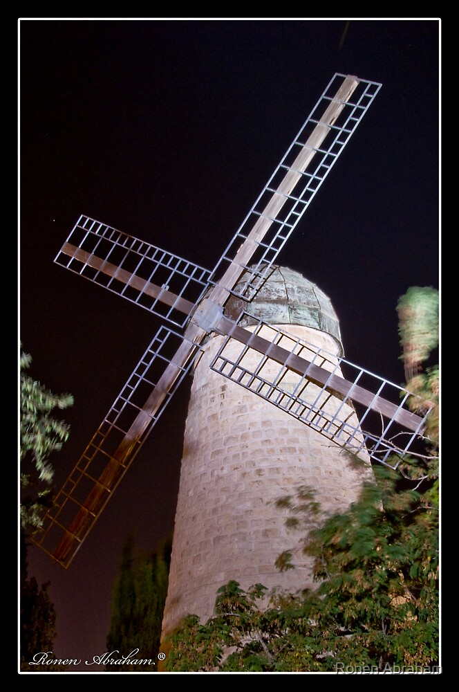 The Windmill 2 by Ronen Abraham