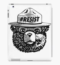 Smokey resist national park iPad Case/Skin