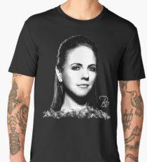 Bo in Black & White Men's Premium T-Shirt