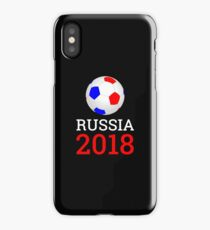 Soccer Russia 2018 T-Shirt Football Championship Games Russian Flag  iPhone Case/Skin