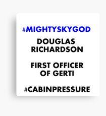 Mighty Sky God Canvas Print