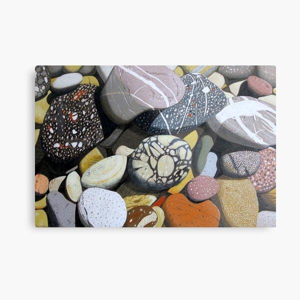 Coastal Rocks Metal Print