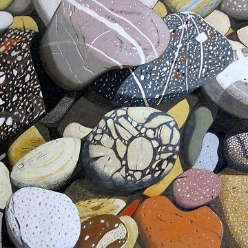 Coastal Rocks by artkleko