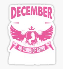 Queens Are Born In November 1971 46 years of being awesome Sticker