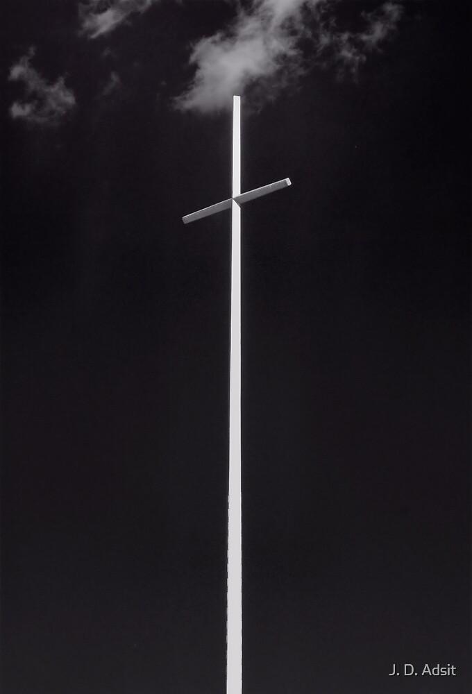 White Cross Rising by J. D. Adsit