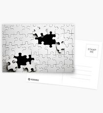 Jigsaw Postcards