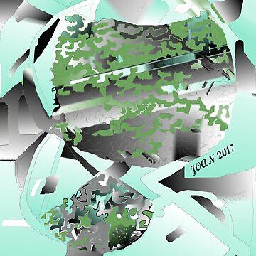 Array of Colour - Joan 2017 by glendobe