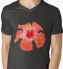 Red Hibiscus Vector Isolated T-Shirt