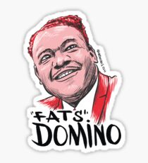 Fats Domino Sticker