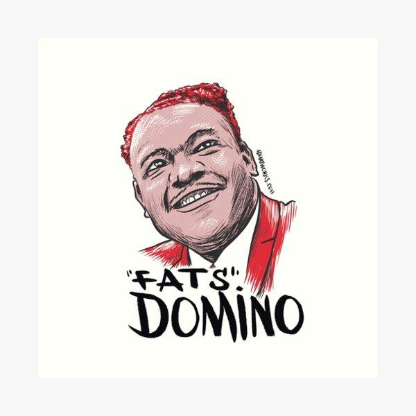 Fats Domino Lámina artística