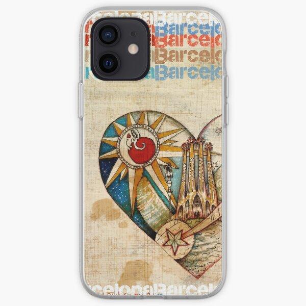 Barcelona Spirit - Vintage iPhone Soft Case