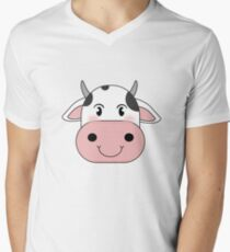 cute cow animation face | redbubble T-Shirt