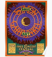 Concert in Central Park  Poster