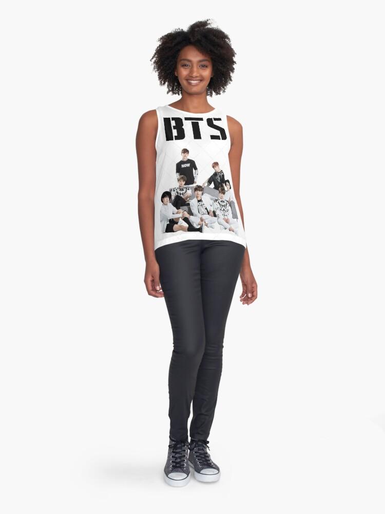 Alternative Ansicht von BTS-Gruppe Ärmelloses Top