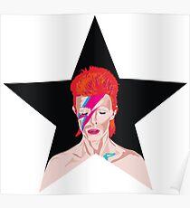 Aladdin Sane - BlackStar - Bowie Poster