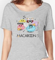 Macaroon 5 Women's Relaxed Fit T-Shirt