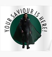 your saviour is here Poster