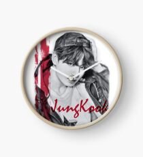BTS - Jungkook Fanart Clock