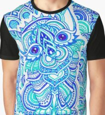 Psychedelic Cat Art On Everything! Graphic T-Shirt