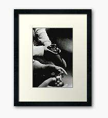 Four Thumbs Framed Print